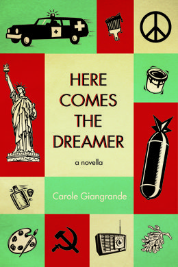 """Here Comes the Dreamer"" - a novella by Carole Giangrande. Alastair Luce is a dreamer, one of three who tell this tale. A Canadian expat living in a 1950s New York City suburb, he's an artist, a quiet man who fears atomic holocaust, drinks too much and worries about his suffering child, Grace. Claire, a neighbour, is the second voice in this unique novella, and Grace picks up the story as the third. All three are bound together by their history, as a crisis draws their lives to a climax…"