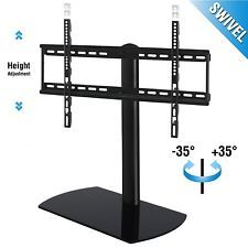 Fenge Swivel Universal TV Stand/Base Tabletop TV Stand with mount for 32 to 6...