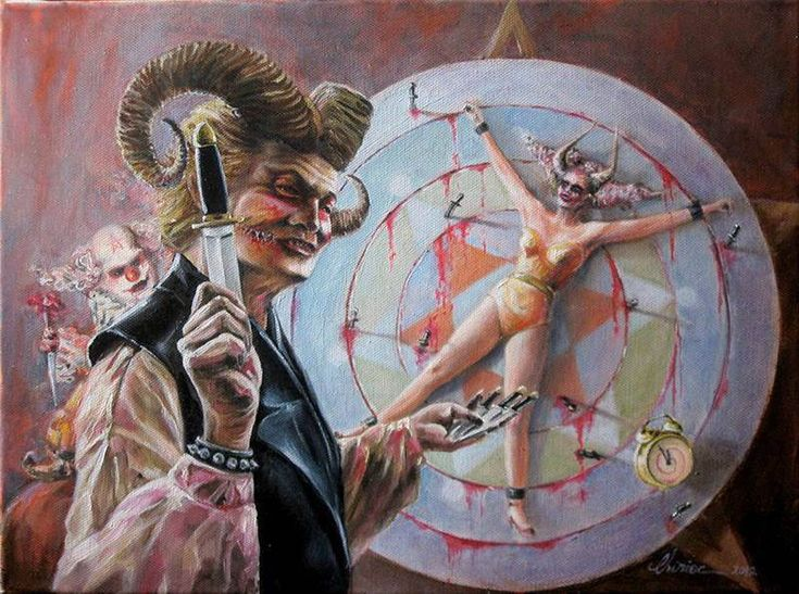 surreal-oil_painting-famous_artists-horror-mystic-knife ...
