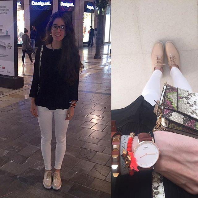 Qué tal lleváis la semanita corazónes? Aquí tenéis Look de hoy! Estrenando pantalón de Zara!  100% recomendables! Ahorita a ver vis a vis!!! Feliz noche! Besitos! Camisa: Sfera. Pantalón: Zara. Zapatos: Zara. Bolso: Parfois  #outfit #outfitoftheday #outfitpost #outfitinspiration #fashionblogger #fashionista #fashion #fashiondiaries #fashionaddict #cute #pretty #sweet #girl #prettygirl #world #night #goodnight #ig #igers #instagramers #bye #likeforlike #followforfollow #like4like #sw...