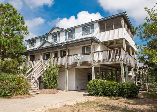 Eagles Landing is a Whalehead Outer Banks House vacation rental in Corolla. This Whalehead Outer Banks rental is perfect for your next Whalehead Outer Banks Vacation in Corolla.