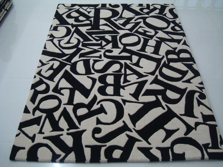 Alphabets in Design Black & White