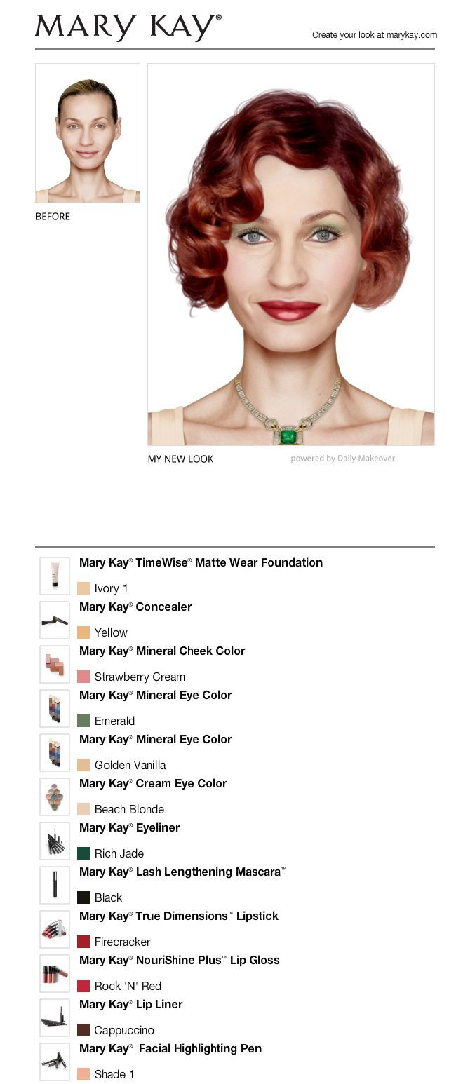 Mary kay online agreement on intouch - I Just Got A Great New Look Using The Free Mary Kay Virtual Makeover