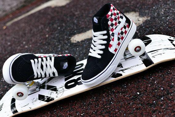 Vans SK8-Hi LITE VN0A2Z5YJYW Black Red