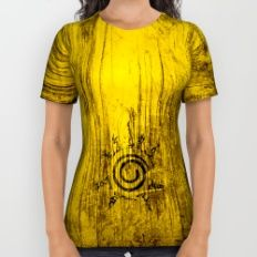Naruto Seal All Over Print Shirt