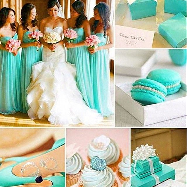 Blue tiffany inspirations. In love with the details!   www.mysweetengagement.com