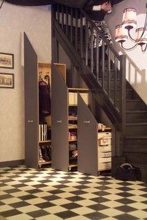 les 25 meilleures images du tableau sous escalier sur pinterest escaliers rangement escalier. Black Bedroom Furniture Sets. Home Design Ideas