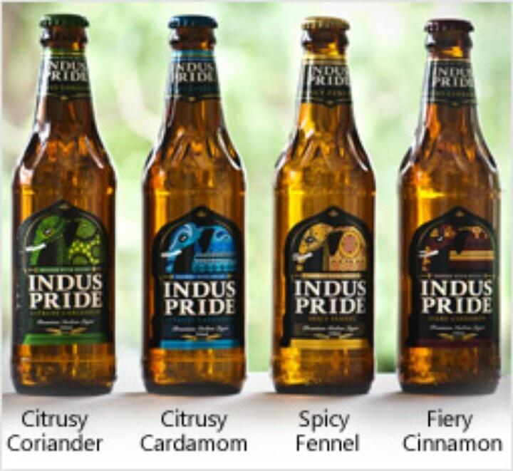 Indian brewed beer!! Indus pride!