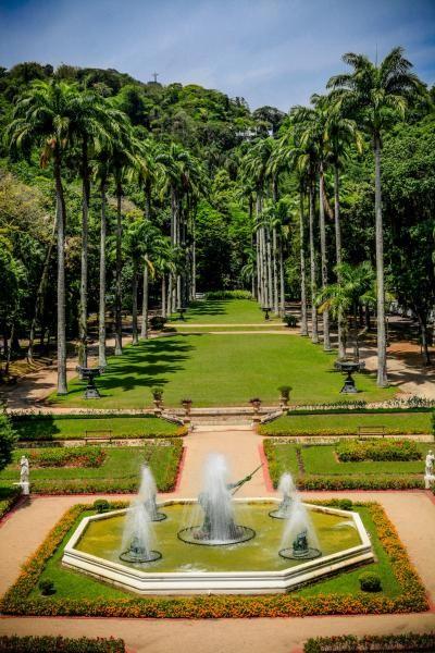 Jardim do Palácio Guanabara, Laranjeiras, Rio de Janeiro - RJ, Brasil