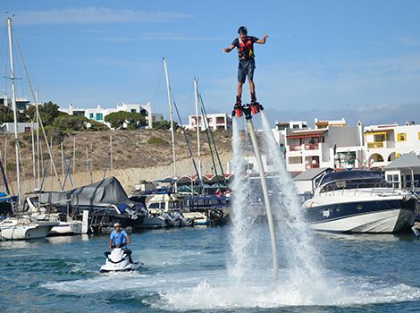 Try Flyboarding this December! With Elite Wetbikes in Langebaan, South Africa