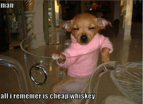 Cheap whisky