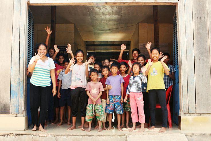 We'll miss you #VietnamSchoolTours #goodbye #children #helping