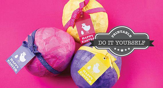 free printable DIY Easter Eggs