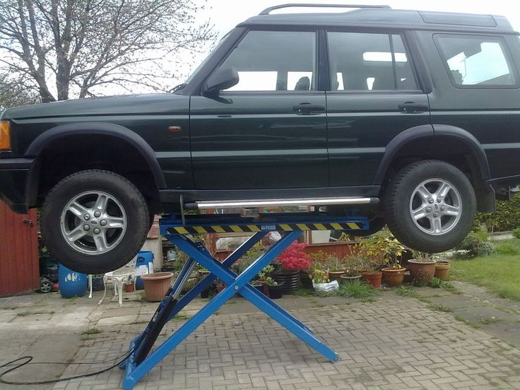 Car Lift Mobile Scissor Great For Home Work Use