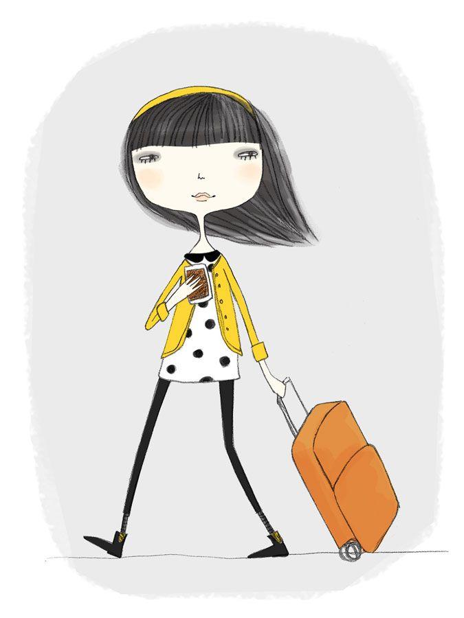 Elich Kata #illustration #girl #cute #ilustração