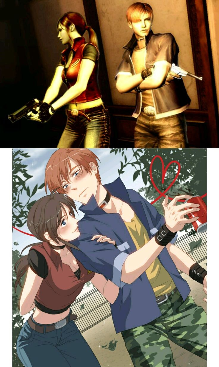 Steve x Claire in Resident Evil: Code Veronica