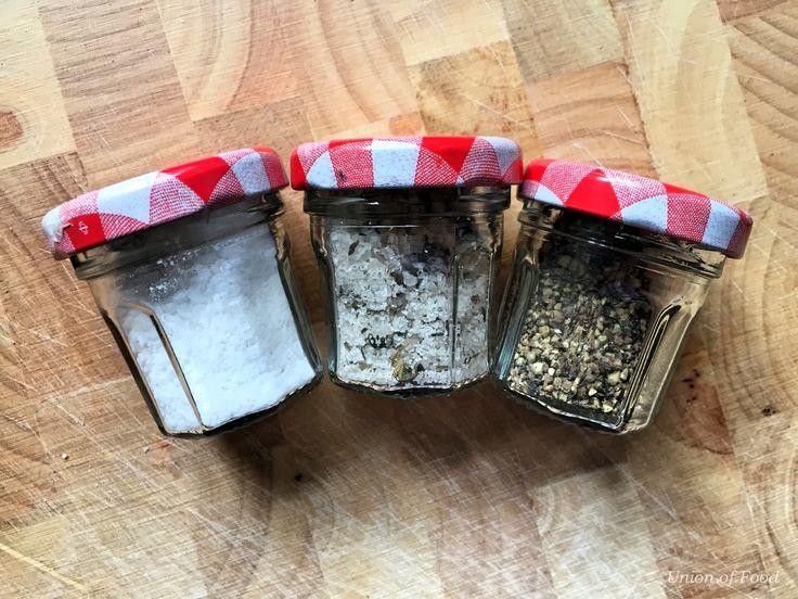 homemade mini salts for picnics