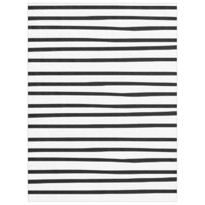 Cozy Fleece Blanket Black and White Funky Stripes - kids kid child gift idea diy personalize design
