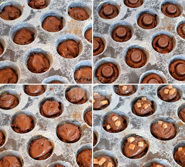 brownie rolo bites