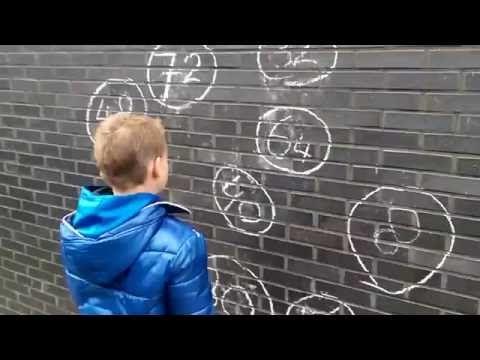 bewegend leren rekencircuit 2 - YouTube