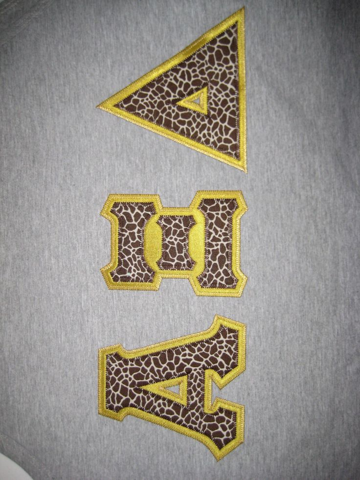32 best letters for a cause images on pinterest greek for Sorority sewn on letters