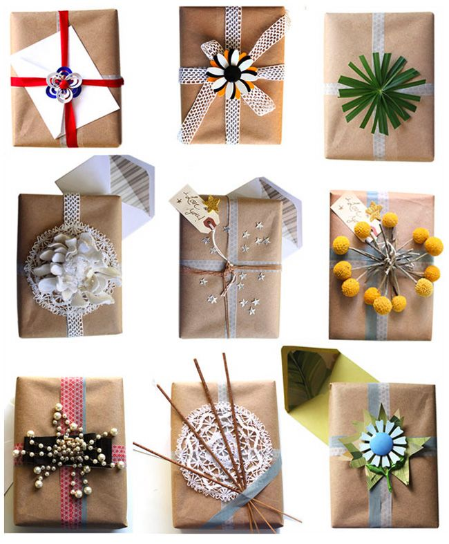 and lots of fun things, gift wrapping ideas, wrapping paper, wrapping, gift