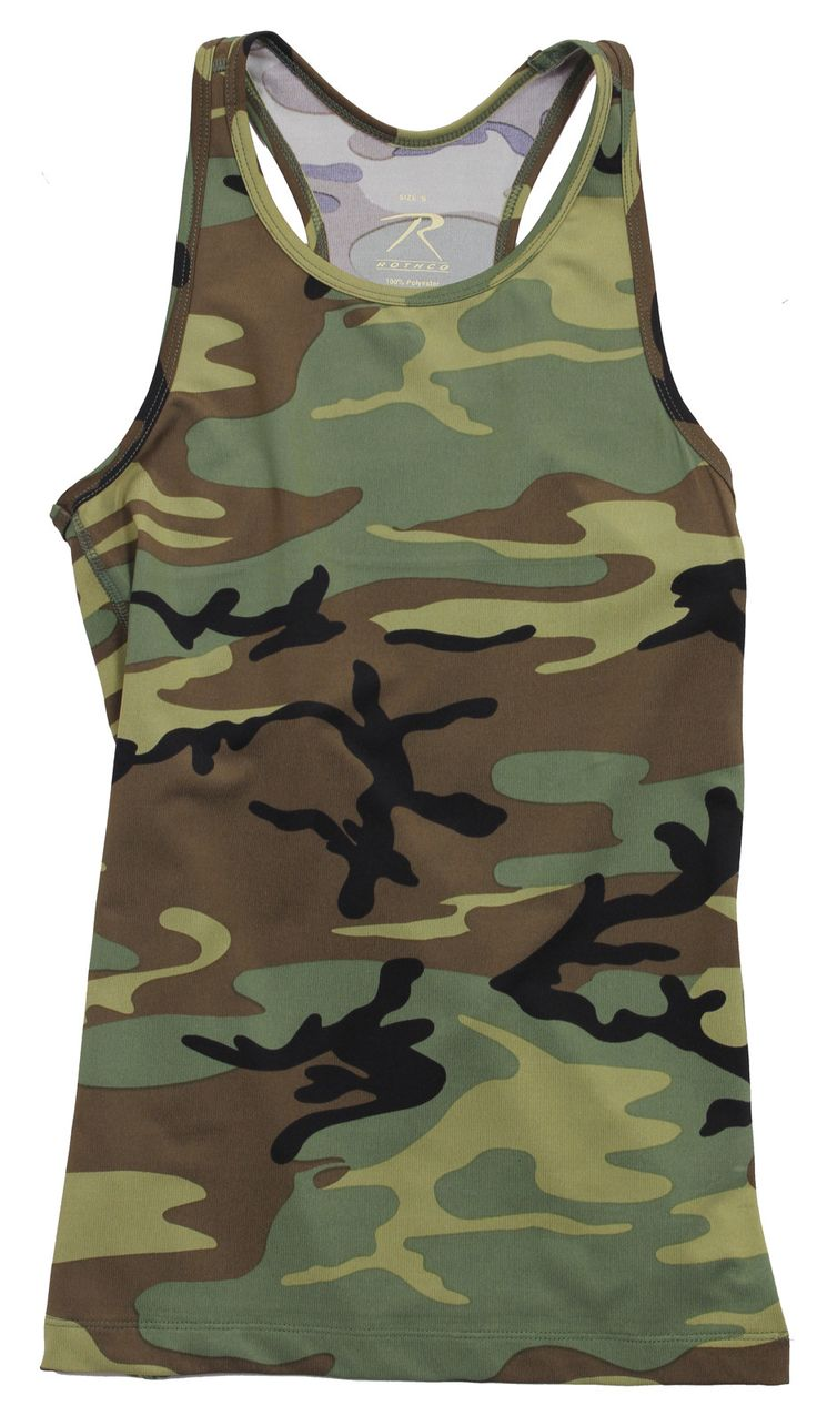 Rothco's Performace Tank Top takes our camouflage tanks to the next level. Our performance tank features a lightweight, comfortable moisture-wicking fabric that will keep you cool and dry while workin