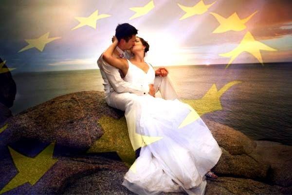 Europa - 25.000 € di incentivo per le coppie che si sposeranno entro il 2015
