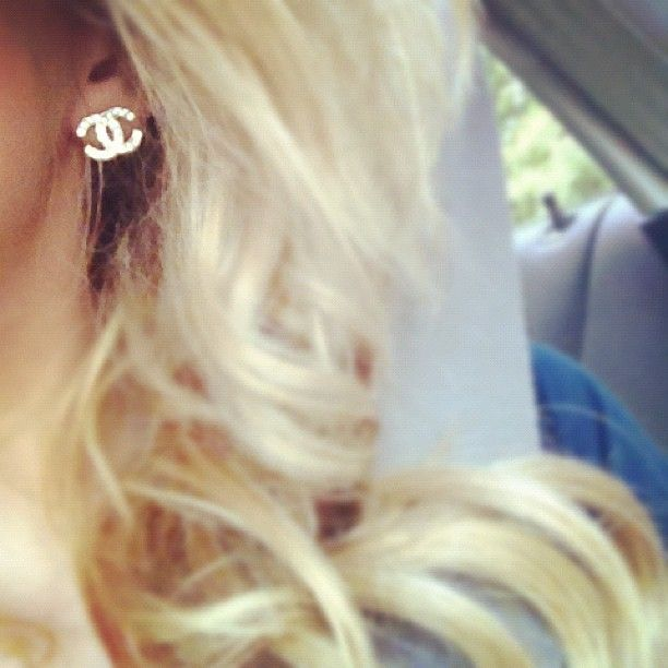 I love My Chanel earrings!