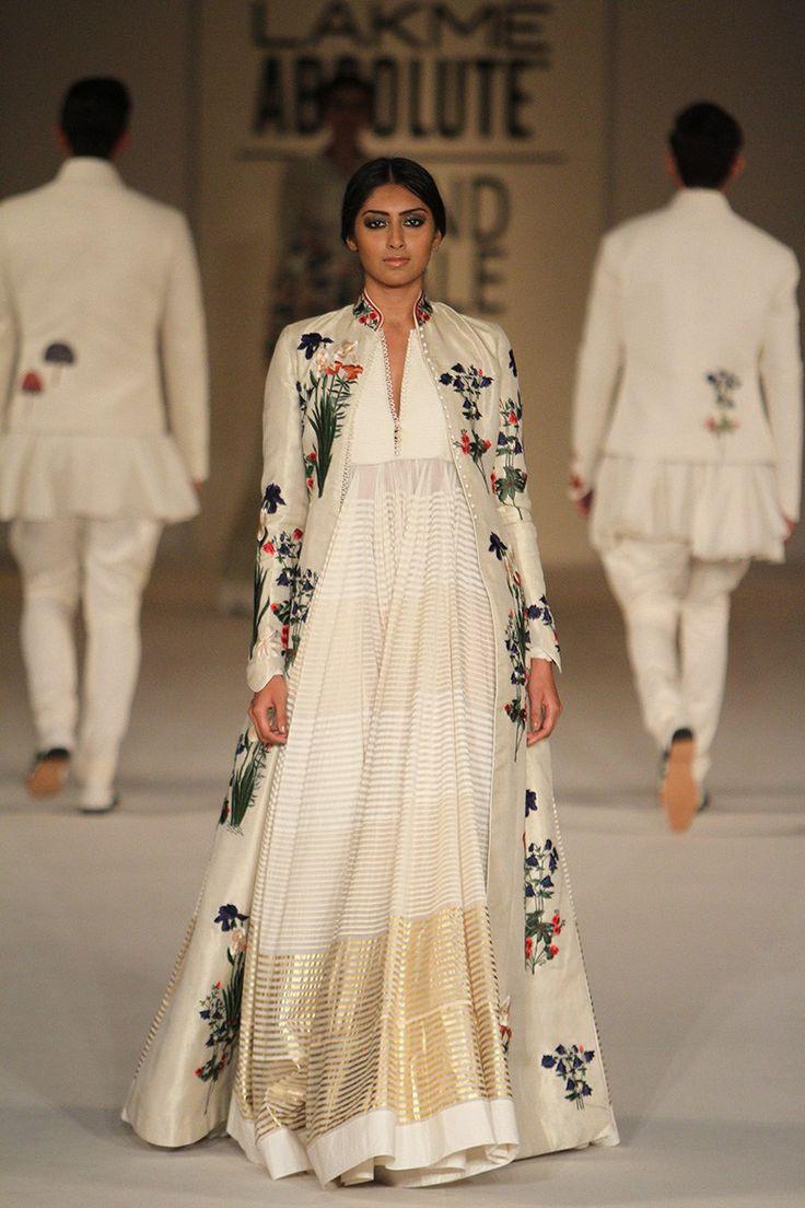 Rohit Bal Anarkali with Jacket
