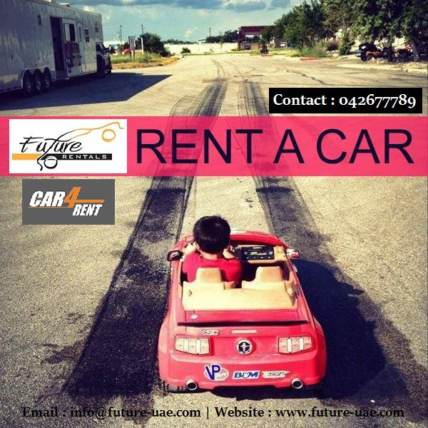 We welcome you to try @futurecarrental ! We can assure you that you won't book with anyone else after that! Book with us online on www.future-uae.com and enjoy economical rates or call on 042 677789 for Booking and more information..!!