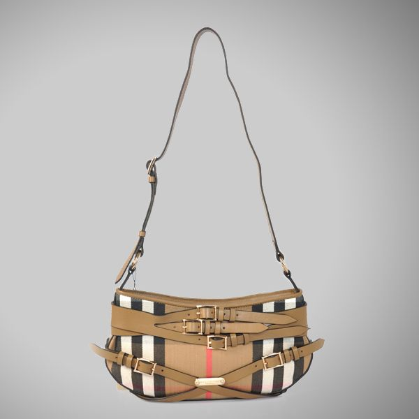 Cheap Burberry Burberry Bridle House Check Sling Bag 37638331-2 Sale $168.00