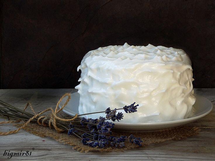 Ванильно-вишневый торт - Мой журнал