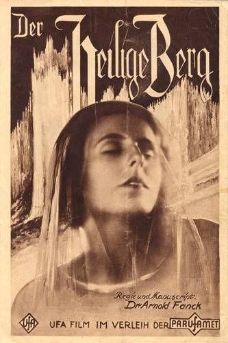 Leni Riefenstahl: 1926 - DER HEILIGE BERG