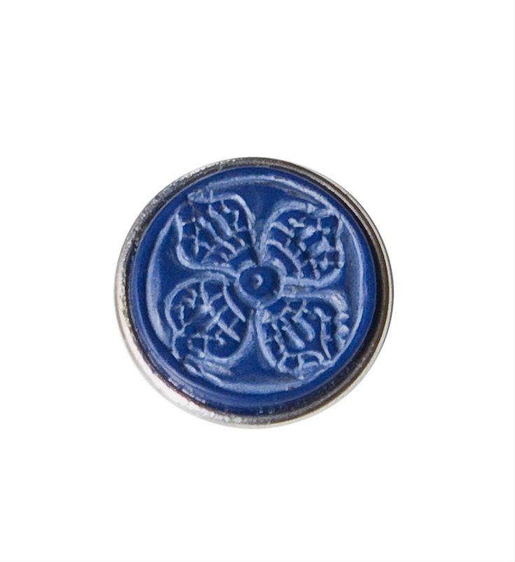 Noosa chunk VISWA VAJRA. Deze chunk staat voor een oud symbool uit het Boeddhisme. Het herinnert aan onze eigen kracht en beschermt en verbindt energieën - NummerZestien.eu