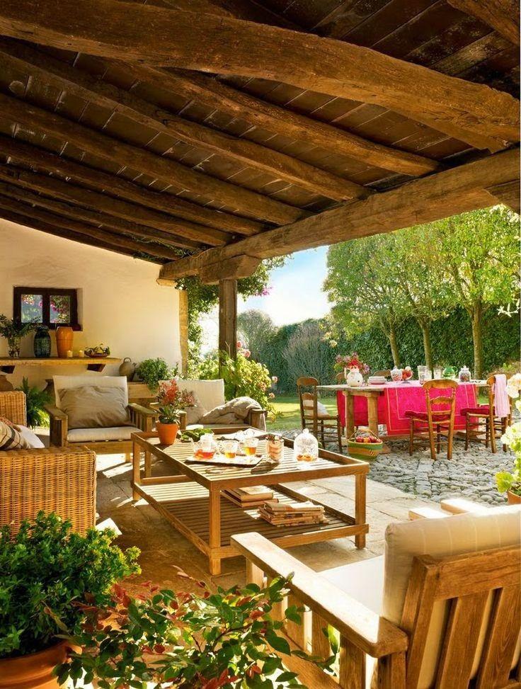 43 best patio roof designs images on pinterest patio - Porches de casas ...