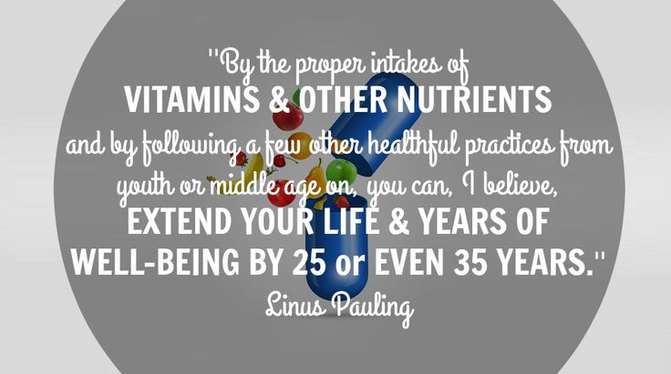 Linus Pauling speaks about vitamins benefits on well-being