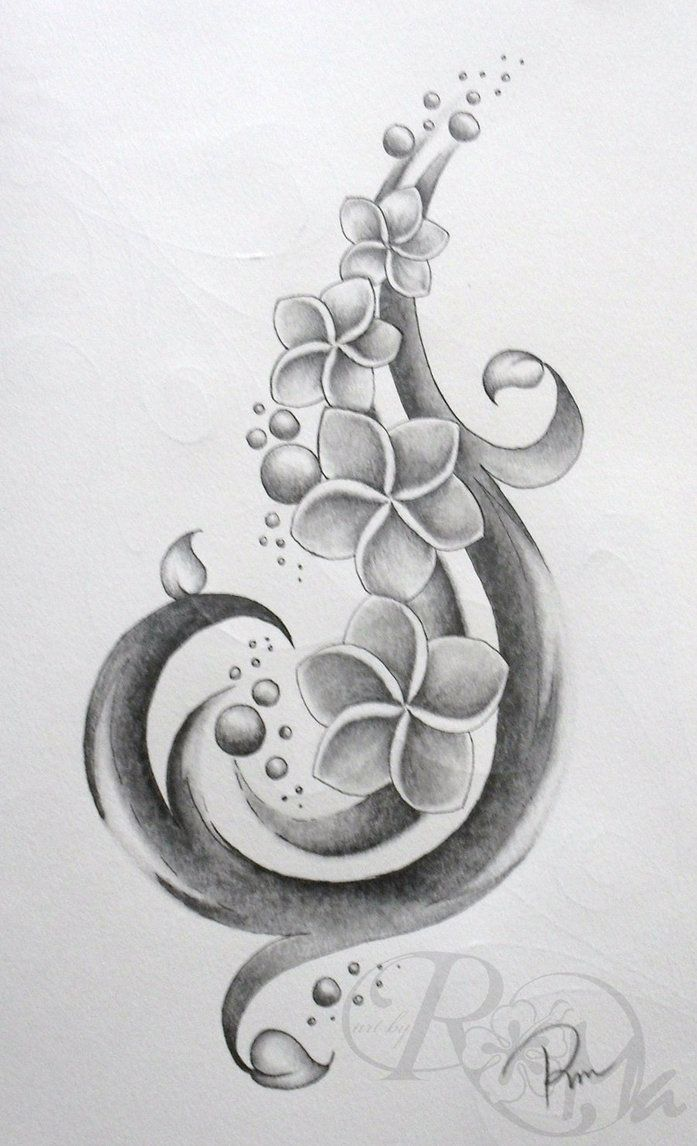 Plumeria Flower Tattoo: Pinterest: Discover And Save Creative Ideas