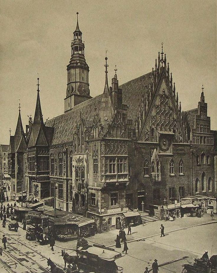 Wrocław - Ratusz (1900-1905)