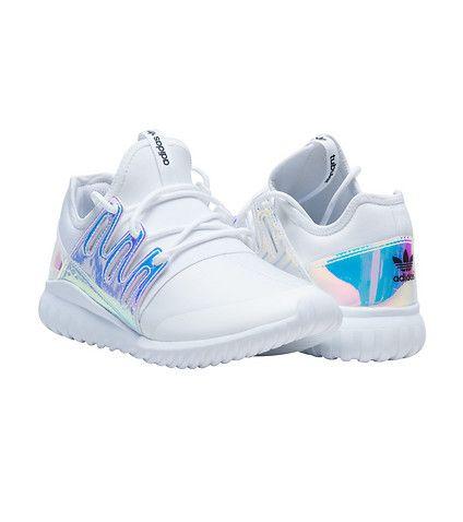 adidas GIRLS TUBULAR RUNNER XENOPELTIS SNEAKER White