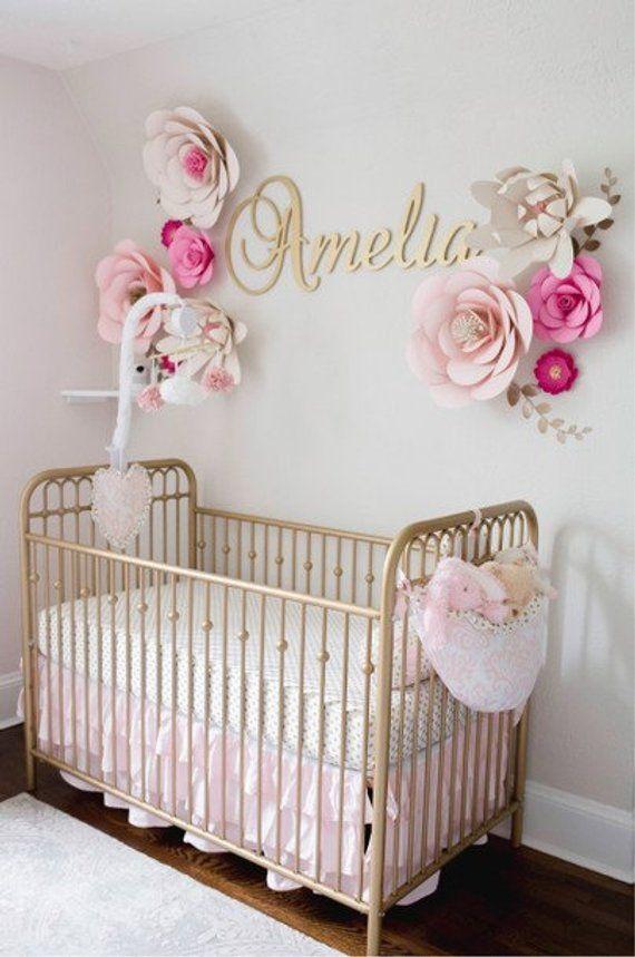 Glitter Nursery Wall Decor