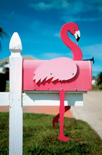Decorative Mailbox Ideas | IdealHomeGarden.com                                     Aunt Darlene!!!!