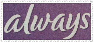 Always verteilte gratis Produktproben – Slipeinlagen mit ActiPearls oder Always Discreet.