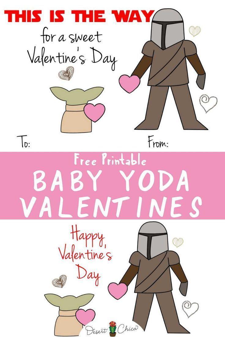 Happy Valentine S Day From Baby Yoda And Mando Merry120 Happy Valentine S Day From Baby Yoda And M Star Wars Valentines Yoda Valentine Cards Big Valentine
