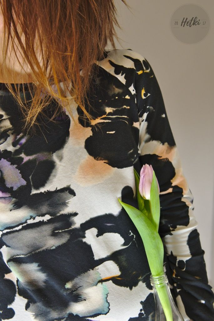 College sewed by me. Fantastic fabric from Vimma, designed by Riikka Koistinen