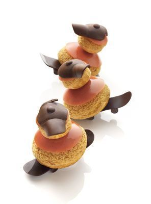Religieuse à la pêche de Christophe Michalak (France)