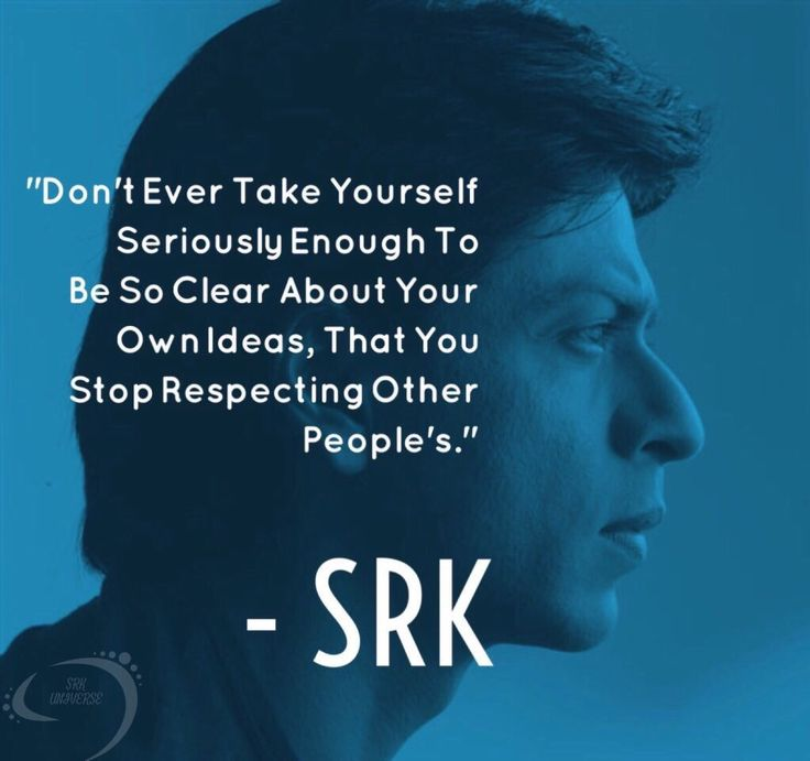That is what srk say❤