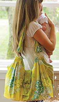 forget diaper bag... i say overnight bag... very cute!!!