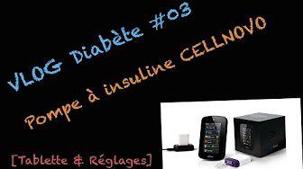VLOG Diabète #02 - Pompe à insuline Cellnovo [Déconnexion] - YouTube