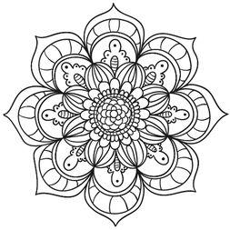 Mandala Floral #5